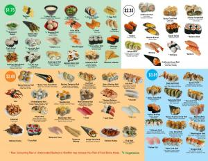 oki sushi and grill togo menu 2