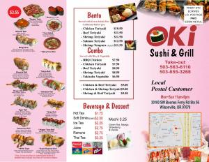 oki sushi and grill togo menu1
